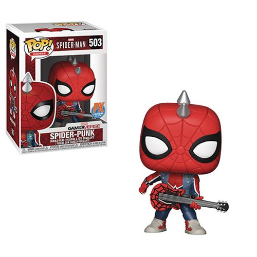 Spider-Man Video Game Spider-Punk Pop! Vinyl Figure Previews Exclusive