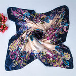 High Quality satin Scarf 90cm*90cm