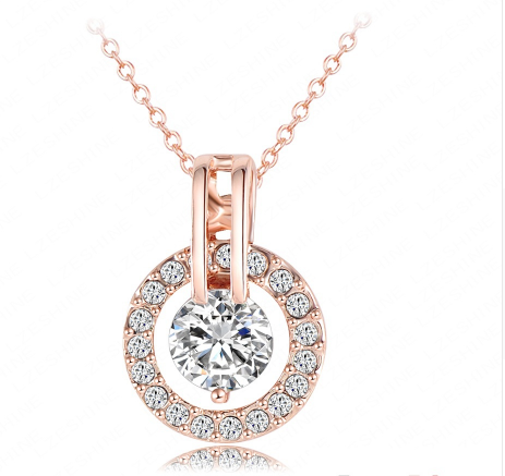 Classy Jewelry Sets Rose Gold Plated