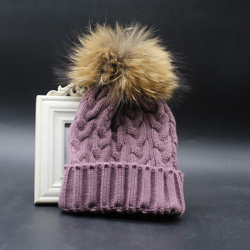 Winter Fashion Women Wool Knitted Beanies