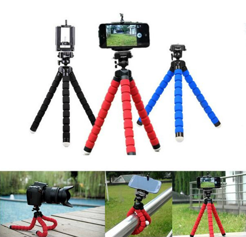 Flexible Octopus Tripod for Mobile Phone and Camera