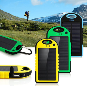 Portable Waterproof Solar Power Bank  Charger