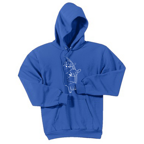 "170DB - ""That!"" (in ASL) Hoodies"