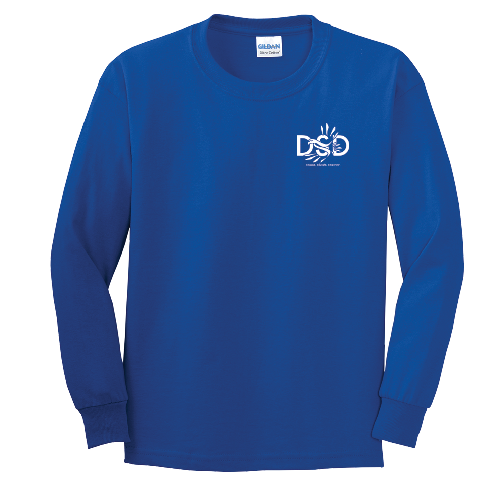 DSD - Youth's Long Sleeve Shirt (DSD Logo) (Old School Design - Back Shirt Optional)