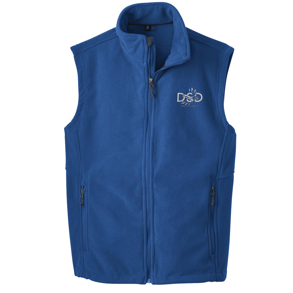DSD - Men's Fleece Vest (DSD Logo)