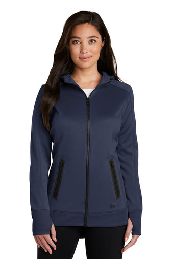 Ladies' New Era Venue Fleece Full-Zip Hoodie