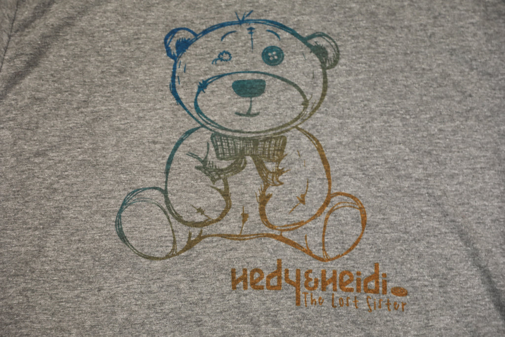 Hedy and Heidi: The Lost Sister Movie - Bear T-Shirt