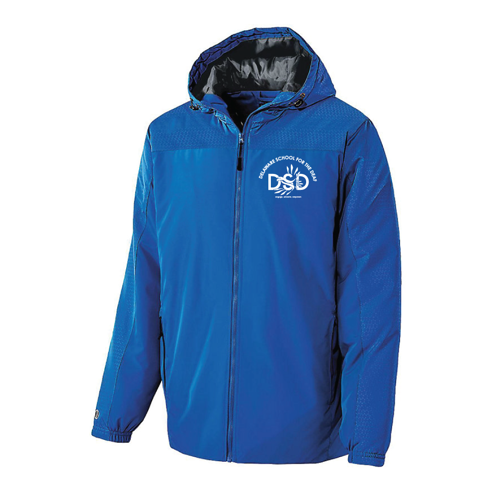 DSD - Youth's Jacket (Delaware School for the Deaf Logo)
