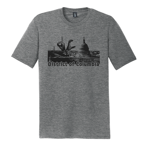 US Major Cities - District of Columbia (DC) Skyline Shirt
