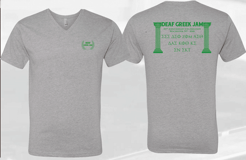 Deaf Greek Jam T-Shirt