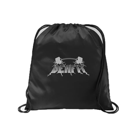 DEAFiT — Official Logo String Backpack