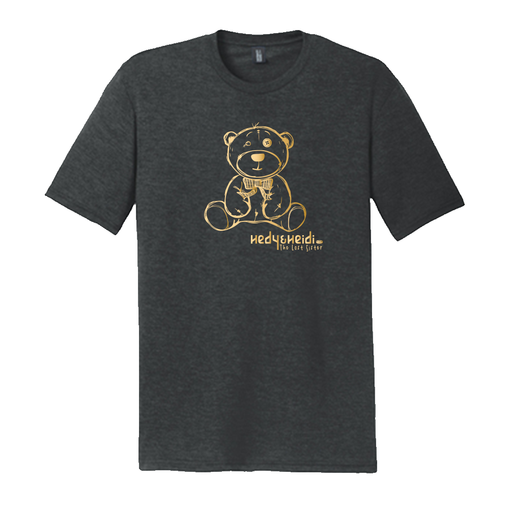 Hedy and Heidi - The Lost Sister Movie Bear Shirt - Shiny Design