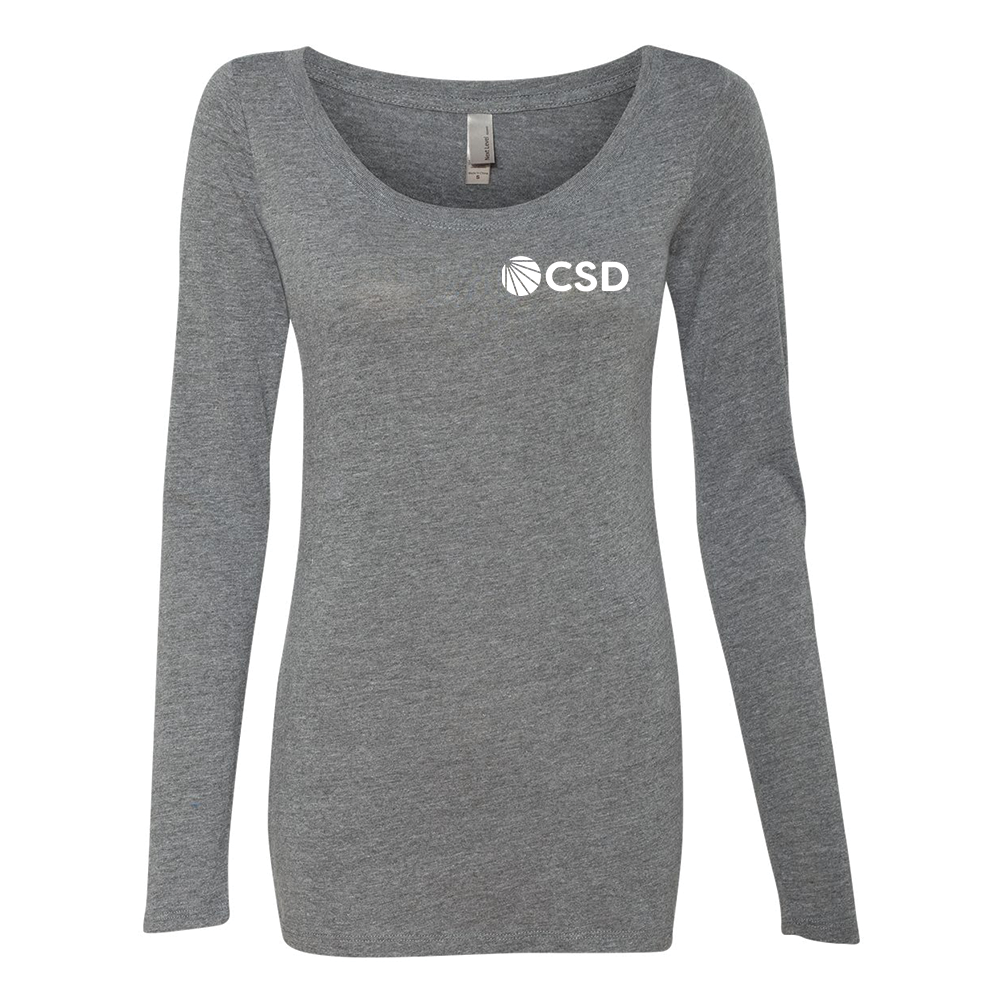 CSD - Ladies' Long Sleeve (CSD Logo)