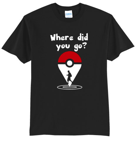 """Where did you go?"" (Man) Shirt"