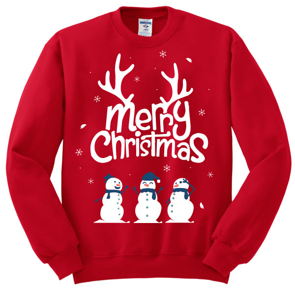 """Merry Christmas"" Ugly Sweatshirt"