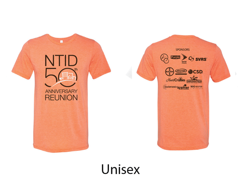 NTID 50th Anniversary Reunion Official Shirt