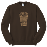"""Don't talk to me until I have my coffee"" Sweatshirt"