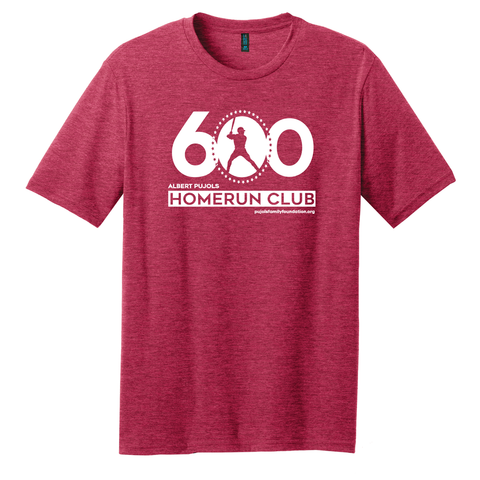 Albert Pujols — 600 HOMERUN CLUB Shirt