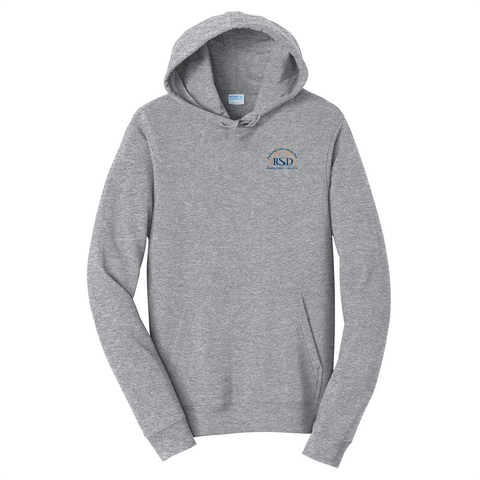 Rochester School for the Deaf - Official Logo (Left Chest) Hoodie
