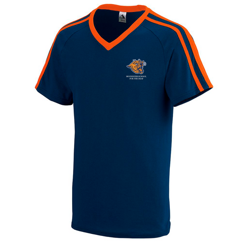Rochester School for the Deaf - Wildcat Logo (Left Chest) Jersey Shirt