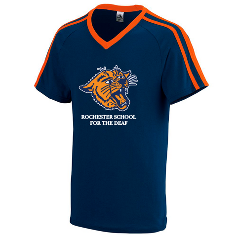 Rochester School for the Deaf - Wildcat Logo Jersey Shirt