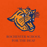 Rochester School for the Deaf - Wildcat Logo (Left Chest) Long Sleeve Jersey