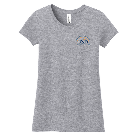 Rochester School for the Deaf - Official Logo (Left Chest) Shirt (Girls)