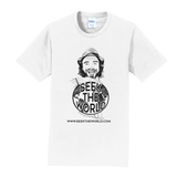 "Seek the World - Official ""Calvin Young"" Face Graphic Shirt"