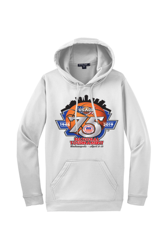 USADB (75th Anniversary) - 60/40 Fleece Hoodie (Large Logo)