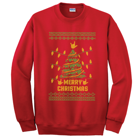 Ugly Sweater - Merry Christmas Sweatshirt