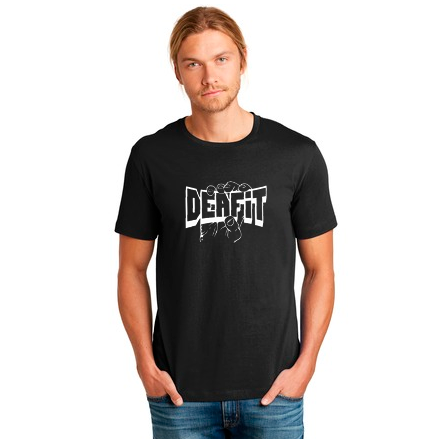 DEAFIT — Graphic with Hand Shirt