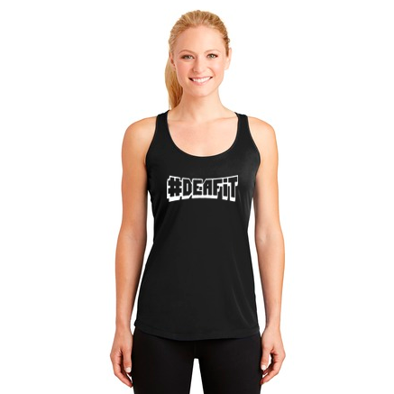 DEAFIT — Graphic Tank Top