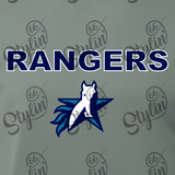 Texas School for the Deaf - Rangers 100% Polyester Shirt