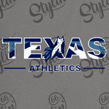 Texas School for the Deaf - Texas Athletics (multicolored) 50/50 Blend Shirt