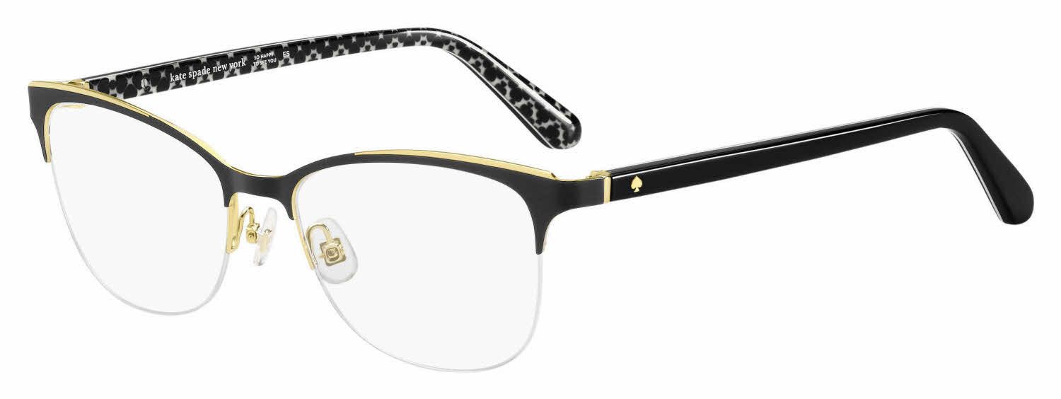 Kate Spade Brieana 0807 Eyeglasses Black