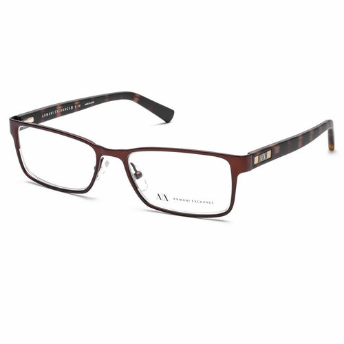 Armani Exchange AX1003 6016 Eyeglasses Brown
