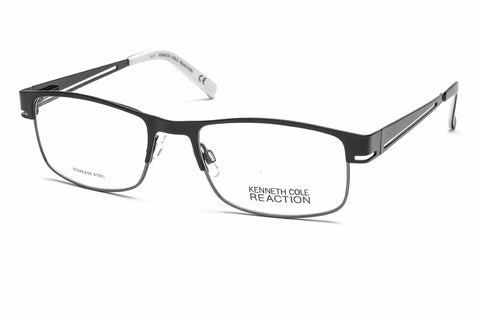 Kenneth Cole Reaction KC0741 Eyeglasses Black/White