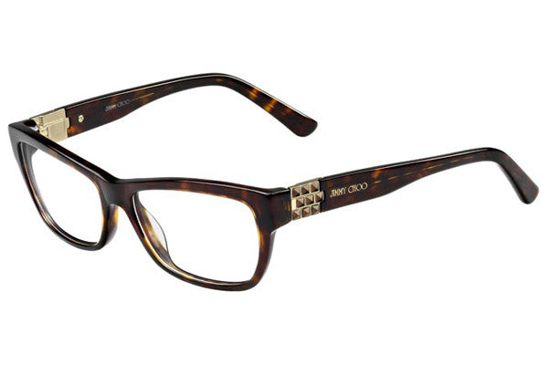 Jimmy Choo Jimmy Choo 66 086 Eyeglasses Havana