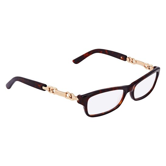 Jimmy Choo Jimmy Choo 85 8Q2 Eyeglasses Havana Rose Gold
