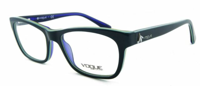 Vogue VO 2767 1989 Eyeglasses Petroleum