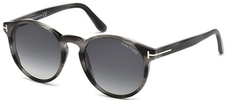 Tom Ford FT0591 Sunglasses Grey / Grey Gradient