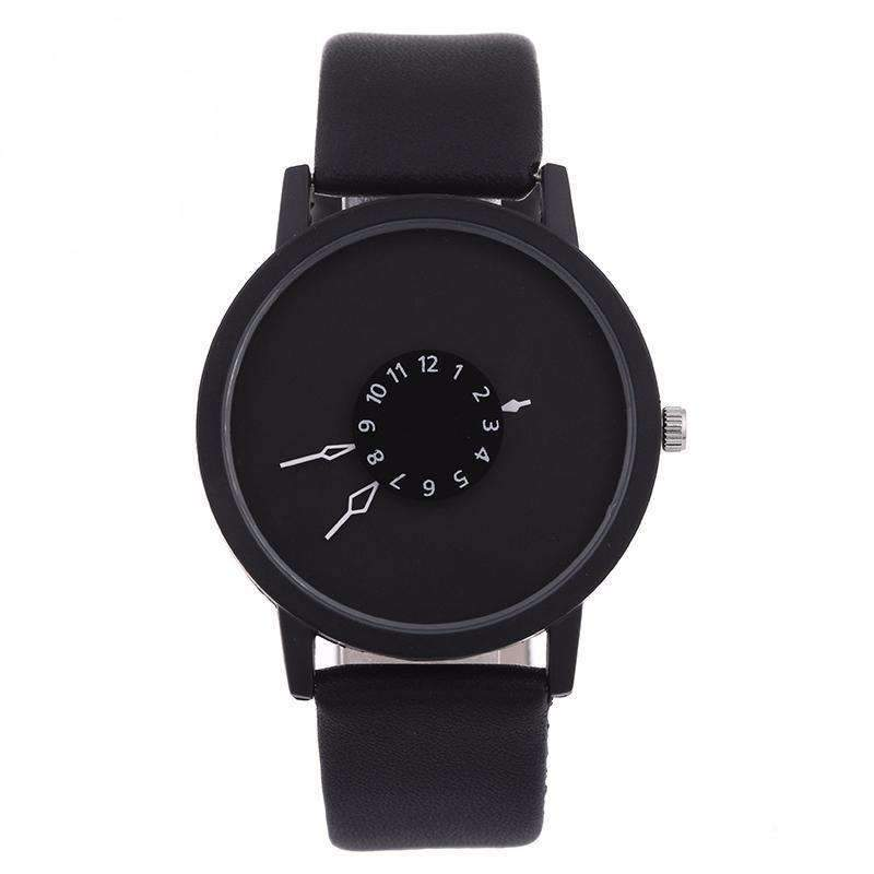 Luminex Leather Watch black
