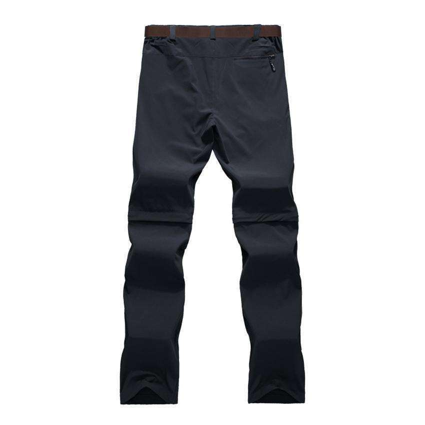 Men's Detachable Pants Grey