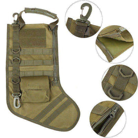 Christmas Hanging Tactical Molle Bag