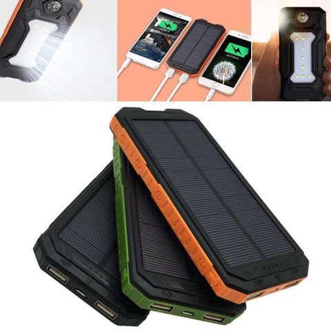 3 in 1 Solar Phone Charger