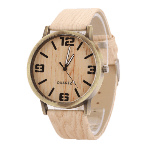 Wood Grain Watch