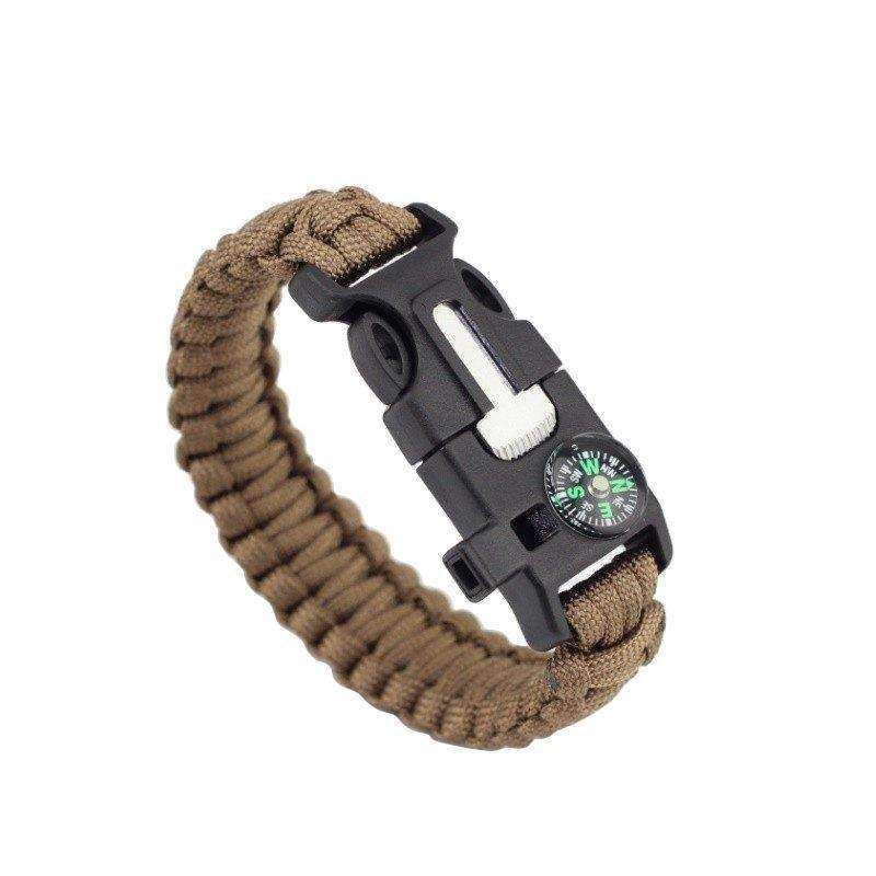 Men's Paracord Survival Bracelet