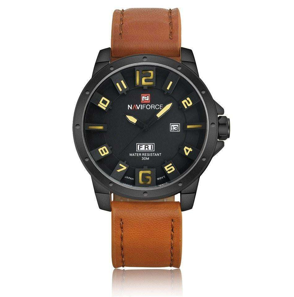 Water Resistant Leather Watch - My zone out