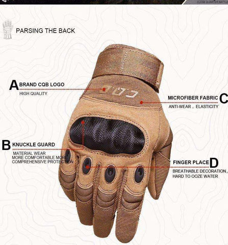 Tactical Gloves - My zone out
