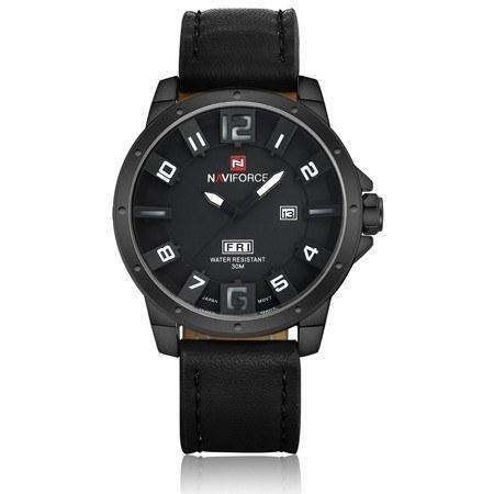 Water Resistant Leather Watch